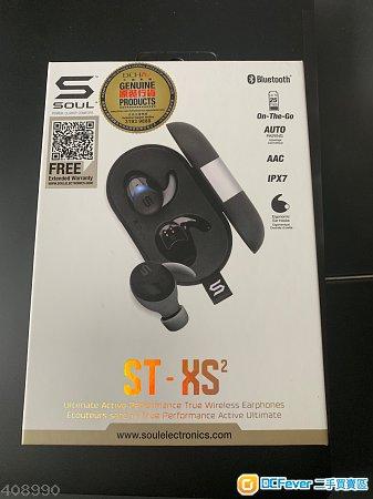 SOUL ST-XS2 黑色 , 全新有單港行