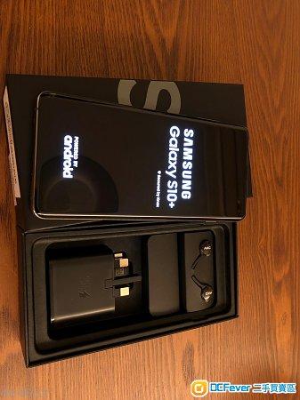 [FS] 全套 98%新 SAMSUNG GALAXY S10+ 黑 8+128GB 行貨