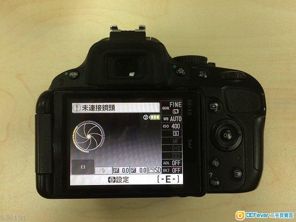 Nikon D5100 body 包一舊原廠電 (90%新, 只壞快門簾)