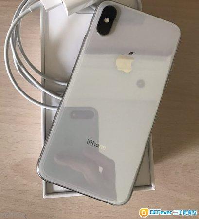 白色 iphone x 256g 95%新
