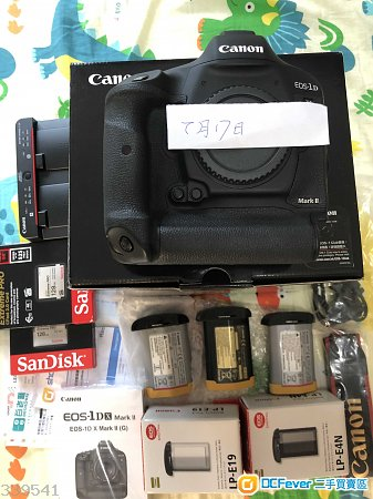 99.99%新行貨Canon 1DX Mark II1DX2, 3原廠電, 512G CFast/CF卡可換 A9 +SE 鏡/5D4