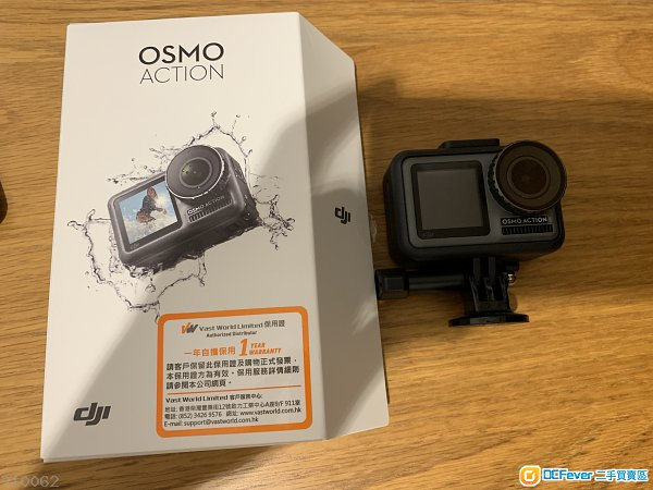 DJI osmo action with 128GB sd card 行貨有單