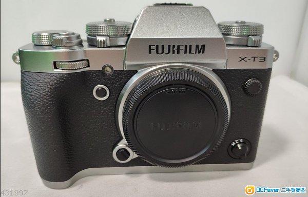 Fujifilm X-t3 xt3 body 有盒有長保 2019年5月尾賣 朋友送 好新