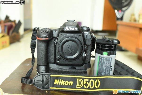 Nikon D500 連直倒 三電二充 99新