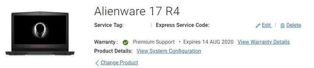出售Alienware 17 r4 - DCFever com